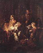 EECKHOUT, Gerbrand van den Presentation in the Temple fh oil painting