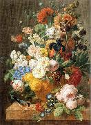 ELIAERTS, Jan Frans Bouquet of Flowers in a Sculpted Vase dfg oil painting picture wholesale