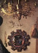 EYCK, Jan van Portrait of Giovanni Arnolfini and his Wife (detail) sdg oil painting picture wholesale