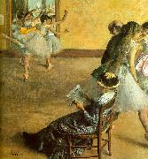 Edgar Degas Ballet Class oil painting picture wholesale