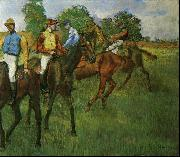 Edgar Degas Race Horses_a oil painting reproduction