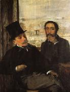 Degas and Evariste de Valernes(1816-1896)