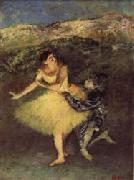 Edgar Degas Harlequin and Colombine oil painting picture wholesale