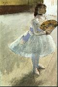 Edgar Degas Dancer with a Fan oil painting picture wholesale