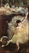 Edgar Degas Dancer with Bouquet oil painting picture wholesale