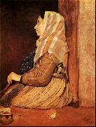 Edgar Degas Roman Beggar Woman oil painting picture wholesale