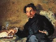 Edouard Manet Portrait of Stephane Mallarme oil painting reproduction