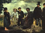 Edouard Manet The Old Musician oil painting
