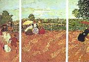Edouard Vuillard Tuileries oil painting