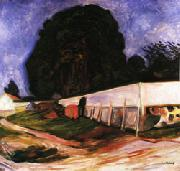 Edvard Munch Summer Night at Aasgaardstrand oil painting picture wholesale