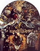 El Greco The Burial of Count Orgaz oil painting