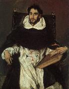 El Greco Fray Hortensio Felix Paravicino oil painting picture wholesale