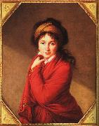 Elisabeth LouiseVigee Lebrun Countess Golovine oil painting