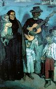 Emile Bernard Spanish Musicians oil painting picture wholesale
