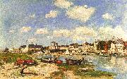 Eugene Boudin Trouville oil painting