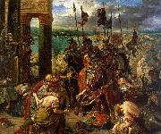 Eugene Delacroix The Entry of the Crusaders into Constantinople oil painting picture wholesale