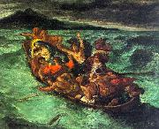 Eugene Delacroix Christ on the Lake of Gennesaret oil painting picture wholesale