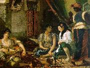 Eugene Delacroix Woman of Algiers in their Apartment China oil painting reproduction