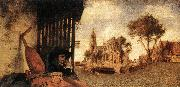 FABRITIUS, Carel View of the City of Delft dfg oil painting picture wholesale