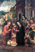 FASOLO, Bernardino Nativity se oil painting