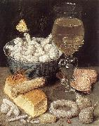 FLEGEL, Georg Still-Life with Bread and Confectionary dg oil painting picture wholesale