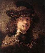 FLINCK, Govert Teunisz. Portrait of Rembrandt df oil painting picture wholesale