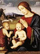 Madonna and Child with the Infant St John the Baptist dsh