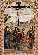 FRANCIA, Francesco Crucifixion xdfgs oil painting