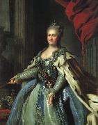Fedor Rokotov Portrait of Catherine II oil painting