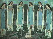 Ferdinand Hodler The Chosen One oil painting picture wholesale