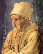 Filippino Lippi Portrait of an Old Man oil painting artist