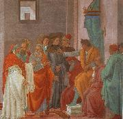 Filippino Lippi Disputation with Simon Magus oil painting picture wholesale