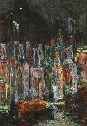 Floris Verster Still Life with Bottles oil painting picture wholesale