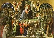 Fra Filippo Lippi The Coronation of the Virgin oil painting