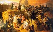 Francesco Hayez Crusaders Thirsting near Jerusalem oil painting artist