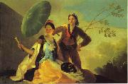 Francisco Jose de Goya The Parasol. oil painting