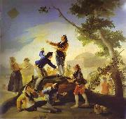 Francisco Jose de Goya La cometa(Kite) oil painting