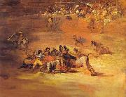 Francisco Jose de Goya Scene of Bullfight oil painting reproduction
