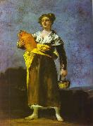 Francisco Jose de Goya Girl with a Jug oil painting reproduction
