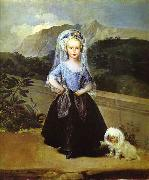 Francisco Jose de Goya Maria Teresa de Borbn y Vallabriga oil painting picture wholesale