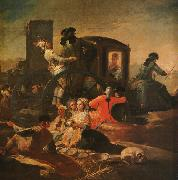 Francisco de Goya The Pottery Vendor oil painting