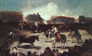 Francisco de Goya Village Bullfight oil painting picture wholesale