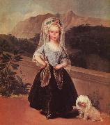 Francisco de Goya Portrait of Maria Teresa de Borbon y Vallabriga oil painting picture wholesale