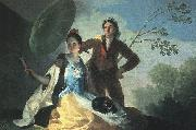 Francisco de Goya The Parasol oil painting artist