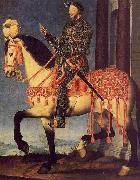 Portrait of Francois I on Horseback