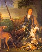 Francois Desportes Self Portrait in Hunting Dress oil painting picture wholesale