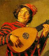 Jester with a Lute