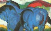 Franz Marc The Little Blue Horses oil painting