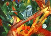 Franz Marc The Monkey  aaa oil painting