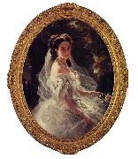 Franz Xaver Winterhalter Pauline Sandor, Princess Metternich oil painting picture wholesale